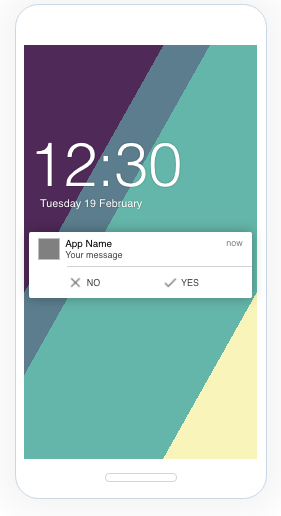 What are Notification Buttons in Campaigns? - Helpshift Knowledge
